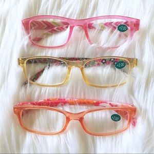 Accessories - Transparent Pastel Reading Glasses - FIRM!